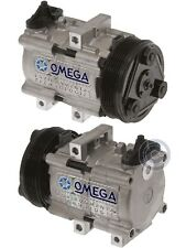 AC A/C Compressor Fits: 2002 - 2007 Ford F250 - F350 V8 5.4L V10 6.8L / 6grooves