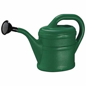 Watering Can with removable rose (2 Litre, Dark Green)
