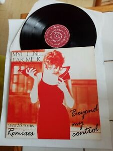 Mylène Farmer Beyond my control Maxi 33 Tours 1992 Polydor 865 821-1
