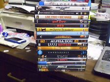 (21) Bruce Willis Dvd Lot: Looper Die Hard Sin City Red Armageddon 6th Sense