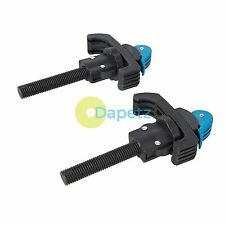 2Pce Workbench Clamps Woodworking Bench Vice WorKMAte Quick Release Mechanism