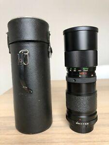 Vivitar Tele-Zoom 85mm-205mm Lens 1:3.8