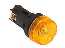 NPL-22 ATI Amber LED Pilot Indicator Light 22mm 220V AC Replaceable Lamp