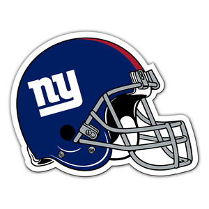 NFL New York Giants 12 inch Auto Magnet Helmet Shaped by Fremont Die