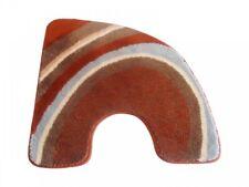 WC-Vorleger Lea terracotta 60x60cm mit Ausschnitt von Sanwood