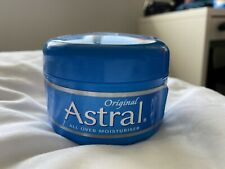 Astral Original Face & Body Moisturiser 200ml, Brand New and Sealed CRACKED LID