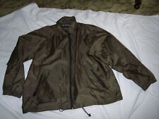 TOTES Raincoat Olive Green Jacket XL Lightweight