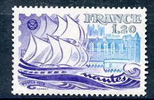 TIMBRE FRANCE N° 2048 ** PHILATELIE A NANTES / BATEAUX / VOILIER