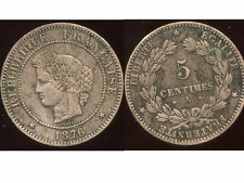 5 centimes CERES 1876   A   ( 1 )  TB ++
