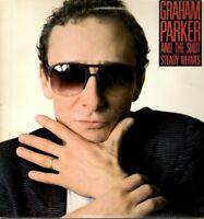 Graham Parker & the Shot LP Elektra Records 1985, 60388-1, Steady Nerves ~ NM- !