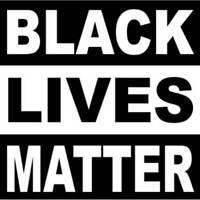 Black Lives Matter 4 Inch Square Vinyl Bumper Sticker Decal