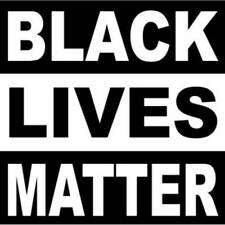 Black Lives Matter 2 Inch Square Vinyl Bumper Sticker Decal