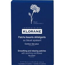 Klorane Smoothing and Relaxing Patches For Tired Eyes With Cornflower 14 patchs