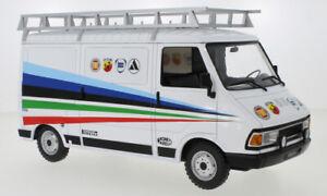 FIAT 242 FIAT ABARTH Technical Assistance 1980 model 1:18th IXO 18RMC060XE