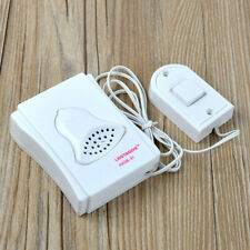 88cm White Wired Doorbell School Hospital Laboratory Ring Bell With Cable Secure