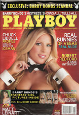 Playboy Magazine November 2007 Cover Lindsey Roeper (Brand New Factory Sealed)