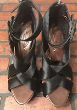 BCBG Max Azria Women`s Strappy Platform Heel Size 7.5B
