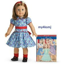 American Girl EMILY DOLL and BOOK Molly's FRIEND retired FAST SHIPPING