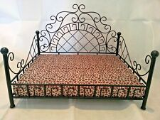 Versachee Classy Pet Bed,4 Poster bed,Quality Petbed . Leopard print mattress