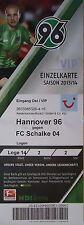 VIP TICKET 2013/14 Hannover 96 - FC Schalke