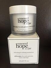 New PHILOSOPHY Renewed Hope in A Jar Refreshing & Refining Moisturizer 2 fl.oz