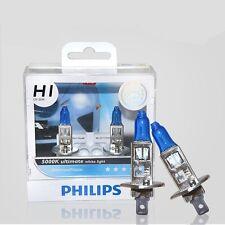 2x PHILIPS H1 Diamond Vision 5000K 12V55W Halogen Bulb FOG BEAM LAMP LIGHT XENON