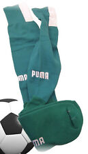 New PUMA Signature Football Socks Emerald Green Youth UK 2-6 Eur 35-38