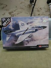 "Academy 2015 USN F-4J ""Jolly Rogers"" Model Kit Sealed!"
