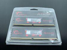 Pair G.SKILL Aegis 8GB 288-Pin DDR4 SDRAM DDR4 3000 (PC4 24000) Memory Desktop