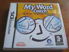 MY WORD COACH ** NEW & SEALED **  Nintendo Ds Game