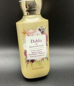 Bath & Body Works Dahlia Body Lotion  Shea Butter + Vitamin E  New 8 FlL Oz