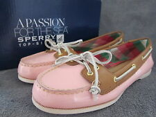 SPERRY Top Sider Audrey Rose Patent Loafer Slip-On Boat Shoes US 7 M EU 37.5 NWB