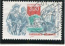 TIMBRE FRANCE OBLITERE N° 3103 CORSAIRES BASQUES /  Photo non contractuelle