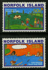 Norfolk Island   1985   Scott # 369-370  Mint Never Hinged Set