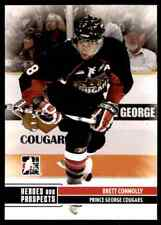 2009-10 In the Game Heroes and Prospects Brett Connolly #139