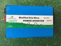 500w 12v DC AC Inverter 240v continuous - High quality - 1000w MAX - USB port UK
