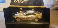 Gold Plated Corgi Aston Martin V12 Vanquish 007 cc07505 Mint Boxed