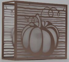 Yankee Candle Fall Copper Burnished Pumpkins Screen 3 Tea Light Candle Holder