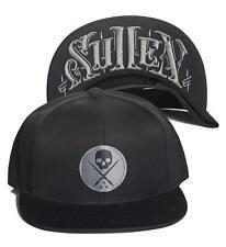 Sullen Art Collective Untold Tattoo Punk Skull Ink Mens Snapback Hat Cap SCA1106