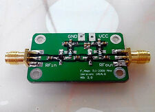 0.1-2000MHz Gain 60dB Low Noise Broadband RF Amplifier Signal Amplifier 0.1~2GHz