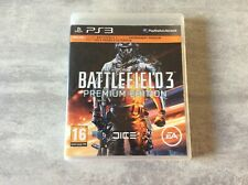 PS3 Battlefield 3 III Premium Edition PLAYSTATION 3 PAL FR COMPLET