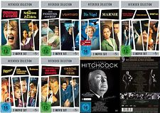 27 Klassiker ALFRED HITCHCOCK !! Marnie PSYCHO Vertigo DVD Sammlung EDITION Neu