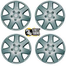"Mitsubishi I-Car 13"" Tempest Universal Car Wheel Trim Covers Silver"