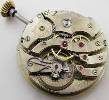 C.H. Meylan at Brassus, 21 jewels 7 adj. Large Pocket Watch movement ... OF