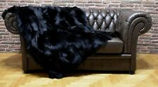 Luxury Genuine Fox Throw Blanket