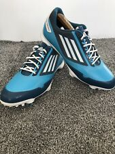 New listing Adidas Golf Shoes Uk 9 Adizero Blue Men's Lightweight One Piece