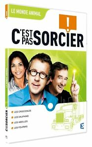 """DVD """"C'EST PAS SORCIER - LE MONDE ANIMAL"""" Fred & et Jamy"""