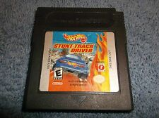 HOT WHEELS STUNT TRACK DRIVER NINTENDO GAME BOY COLOR 1999