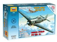 FOCKE WULF FW-190 A-4 - WW II FIGHTER (GERMAN LUFTWAFFE MKGS) #7304 1/72 ZVEZDA