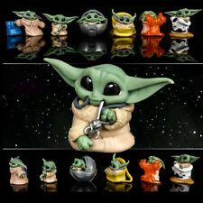 Baby Yoda Action Anime Figure Toys Kids Christmas 5pcs/set Movie  Gifts